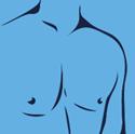 Haarentfernung an der Brust - Männer
