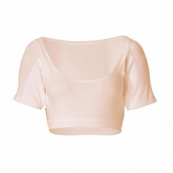 manjana® women-U-bustier-shirt mit eingearbeitetem Achselnässeschutz Hautfarben : S