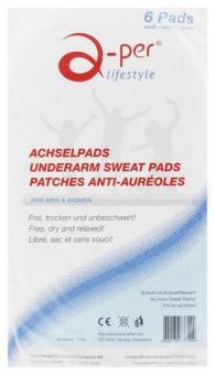 a-per© Underarm Sweat Pads - When Size matters