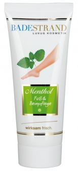 Menthol Fuß- und Beinpflege 100 ml