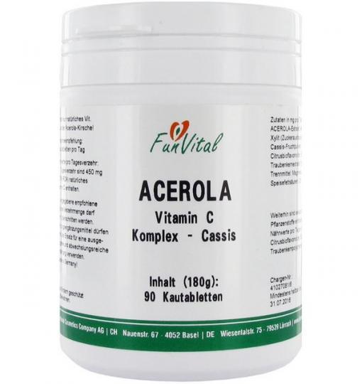 Acerola-Vitamin-C-Komplex Cassis