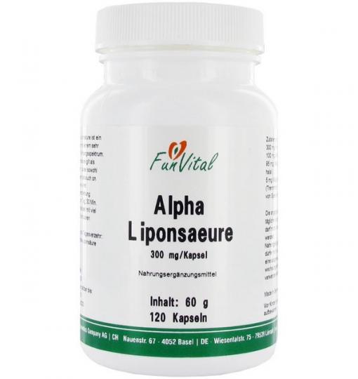 Alpha-Liponsäure, 120 Kapseln