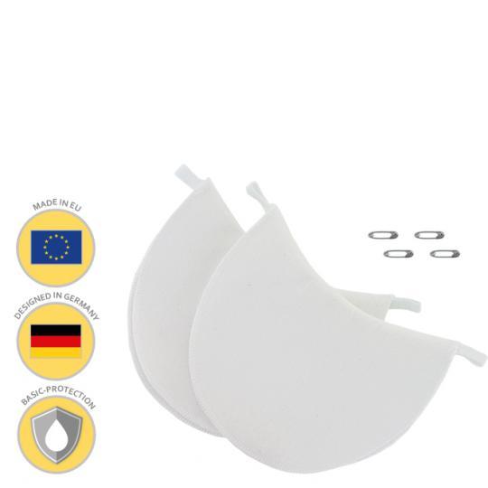 MANJANA® ACHSELPADS waschbar - Achselnässeschutz gegen Schweißflecken, passend für jedes Oberteil