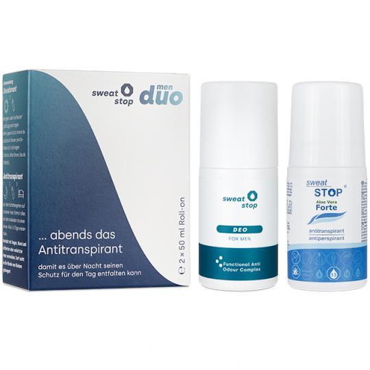 SweatStop® duo men – Antitranspirant & Deo gegen Schweiß und Geruch
