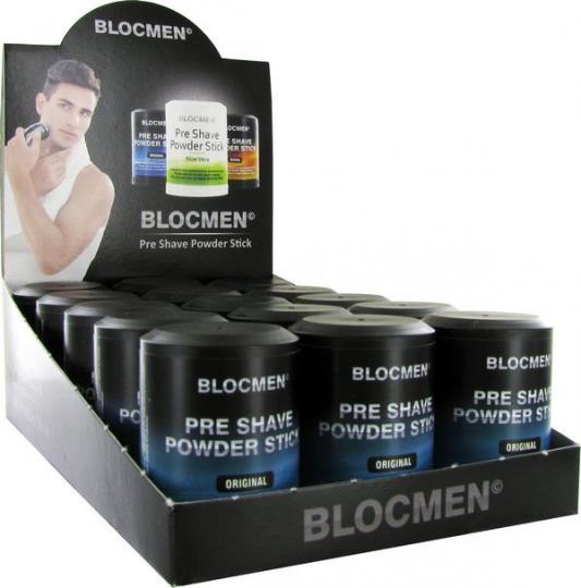 15 Stk BLOCMEN© Original Pre-Shave Rasurpuderstift
