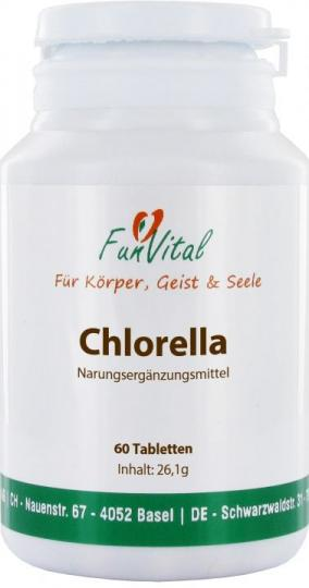 FunVital Chlorella, 60 Tabletten