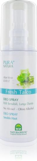 Pura Natura® - Déo en spray Fresh Talco 100 ml
