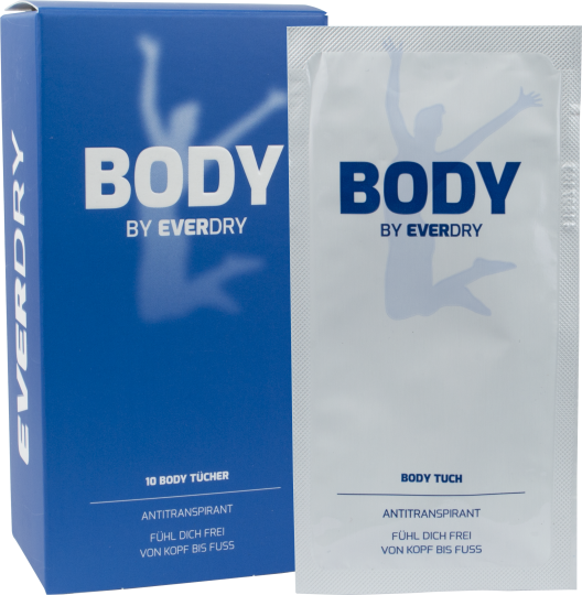 everdry Antitranspirant Body Tücher
