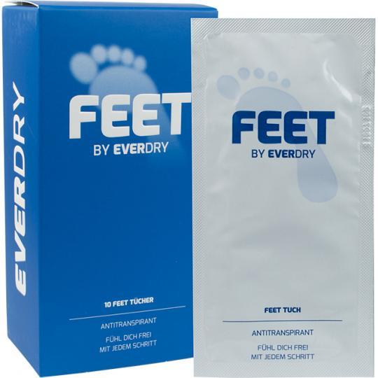everdry Antitranspirant Feet Tücher