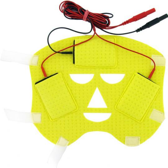 Gesichtselektrode für den Einsatz von SweatStop® Iontophorese DE20 gegen Gesichtsschweiß.