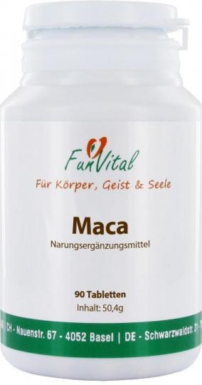 FunVital Maca, 90 Tabletten