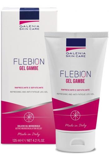 Galenia Skin Care® FLEBION Mikrozirkulationsgel zur Förderung der Mikrozirkulation an den Beinen. Bei geschwollenen, schweren und müden Beinen.