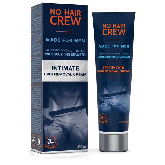 NO HAIR CREW Intimate Hair Removal Cream - for Men