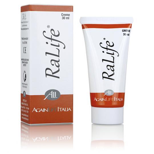 RaLife® Creme - Hilfe bei entzündeter Haut im Gesicht, Nase oder lokalen Hautstellen während und nach einer Chemo- oder Strahlentherapie