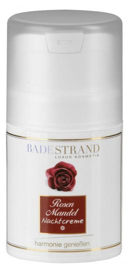 Night Cream with Rose and Almond 50 ml