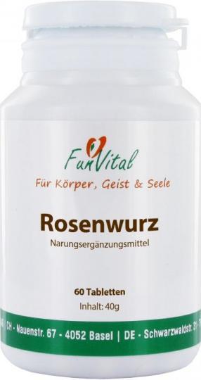 FunVital Rosenwurz (Rhodiola), 60 Tabletten à 400 mg