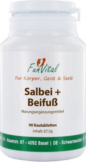 FunVital Salbei + Beifuß, 90 Tabletten