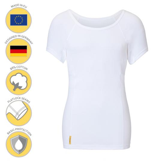 MANJANA® Man-U-classic-shirt - mit starkem Achselnässeschutz gegen Schweißflecken