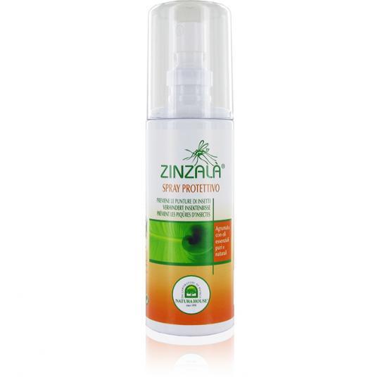 Zinzalà® Natürliches Anti-Mückenspray beugt Insektenbisse und Mückenstiche vor. Mit natürlichen ätherischen Ölen.