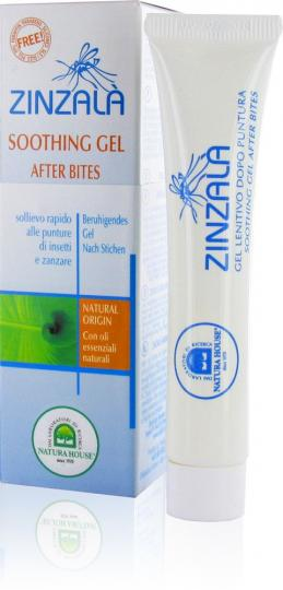 Zinzalà® Natural Soothing Gel - Soothes Mosquito Bites