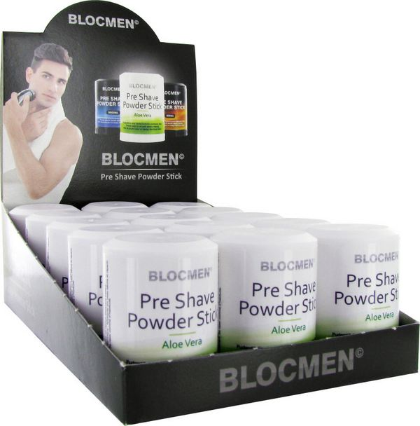 15 Pcs Blocmen C Aloe Vera Pre Shave Nose Ear Care Hyperhidrosis
